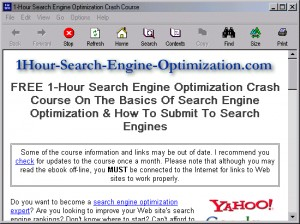 1-Hour Search Engine Optimization Crash Course 1.5