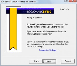 2Go SyncIt Bookmark Manager