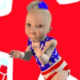 3D All American Baby