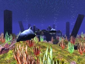 3D Wild Dolphin Screensaver
