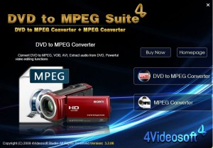 4Videosoft DVD to MPEG Suite
