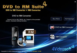 4Videosoft DVD to RM Suite