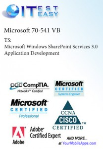 70-541(VB) - TS:MS Windows SharePoint Srvcs 3.0 Application Development