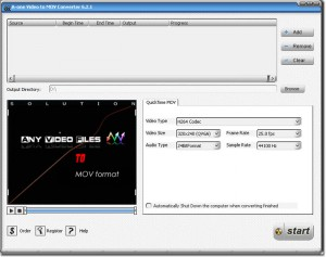 A-one Video to MOV Converter