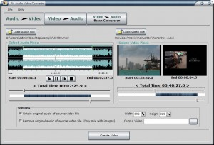 A4 Audio Video Converter