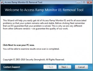 Access Ramp Monitor 01 Removal Tool