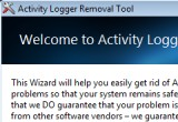 Activity Logger Removal Tool