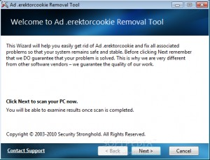 Ad.erektorcookie Removal Tool