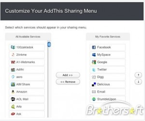 AddThis - Share & Bookmark