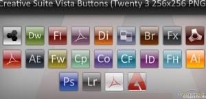 Adobe Creative Suite 3 Buttons