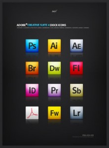 Adobe CS4 Creative Suite Icons