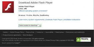Adobe Flash Player for Linux