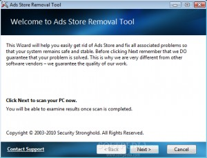 Ads Store Removal Tool