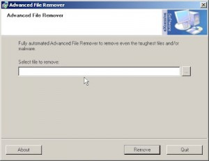 Advanced File Remover