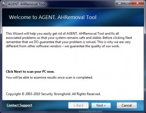 AGENT. AHRemoval Tool