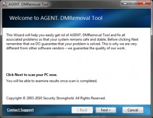 AGENT. DMRemoval Tool