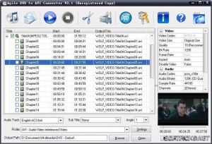 Agile DVD to AVI Converter