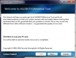 AGOBOTJQRemoval Tool