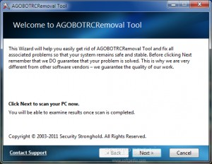AGOBOTRCRemoval Tool