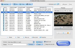 Aimersoft MP4 Video Converter