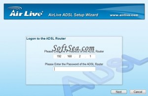 AirLive ADSL Wizard