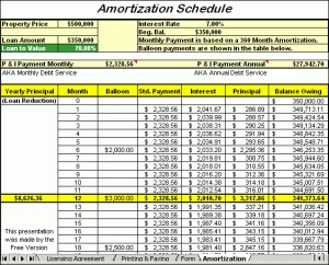 Amortization Loan Software 7jf