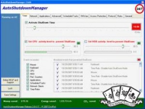 Ampare Shutdown Manager