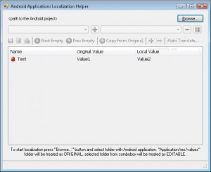 Android Applications Localization Helper