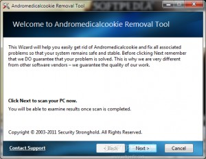 Andromedicalcookie Removal Tool
