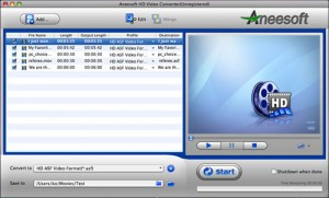 Aneesoft HD Video Converter