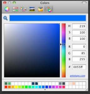 ANTETYPE Color Picker