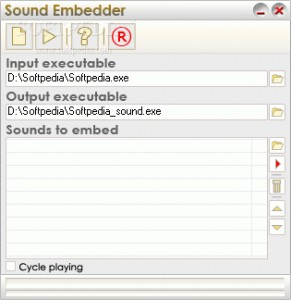 Application Sound Embedder