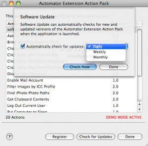 Automator Extension Action Pack