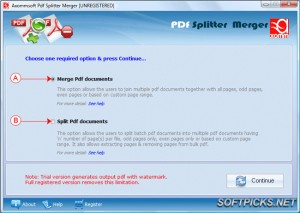 Axommsoft Pdf Splitter Merger