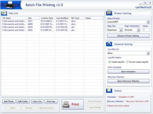 Batch File Printing