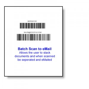 Batch Scan to eMail