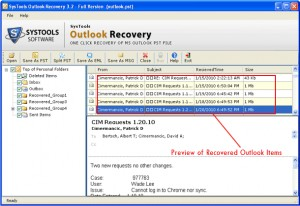 Best Outlook Recovery
