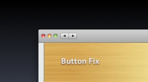 Buttons Fix for Mac App Store