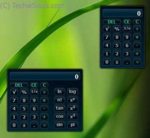 Calculator Vista Gadget