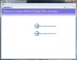 Carbon Effective Supply Chain Simulator
