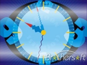 Cartoon Clock Screensaver
