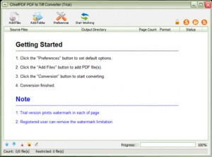 ChiefPD FPDF to Tiff Converter Free