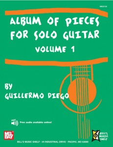 Classical Pieces for Guitar Vol I