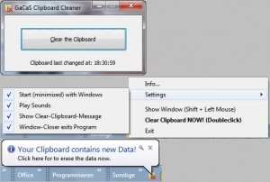 Clipboard Cleaner