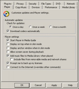 Codec Installation Package for Windows Media Player 7.1 or later