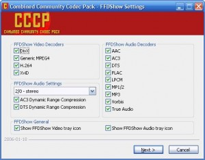 Combined Community Codec Pack