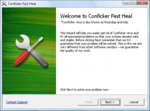 Conficker Fast Removal