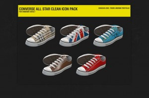Converse All Star Clean Icons
