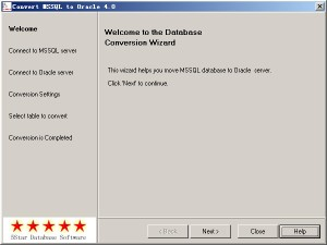 Convert MSSQL to Oracle