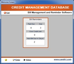 Credit Management Database